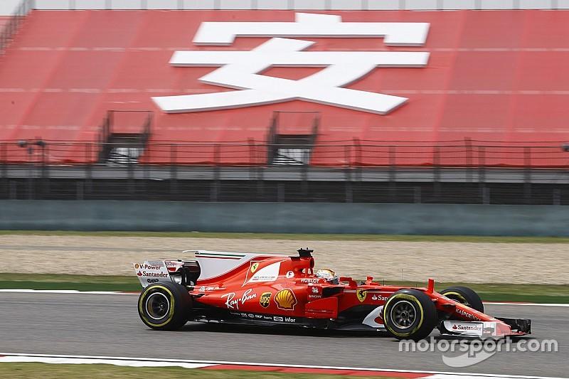 Ferrari domina los libres