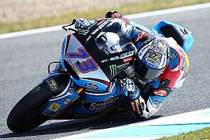 Jerez Moto2: Marquez takes maiden win as Morbidelli crashes