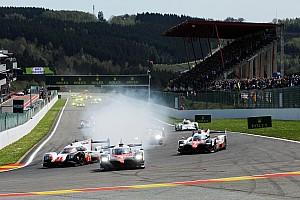 WEC Reporte de la carrera Toyota lidera las tres primeras horas en Spa