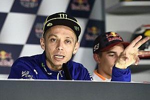 Por recuperação, Rossi não participa de coletiva em Mugello