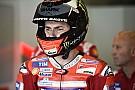 """Lorenzo: """"Hay que ver cómo se comporta aquí la Ducati sin alas"""""""