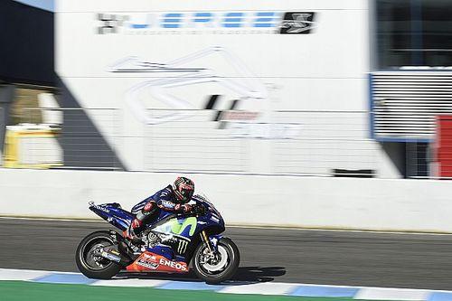 Viñales satisfait du nouveau châssis de Yamaha à Jerez