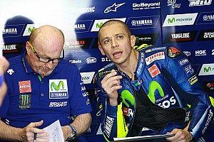 Start ketujuh, Rossi: Saya tidak senang