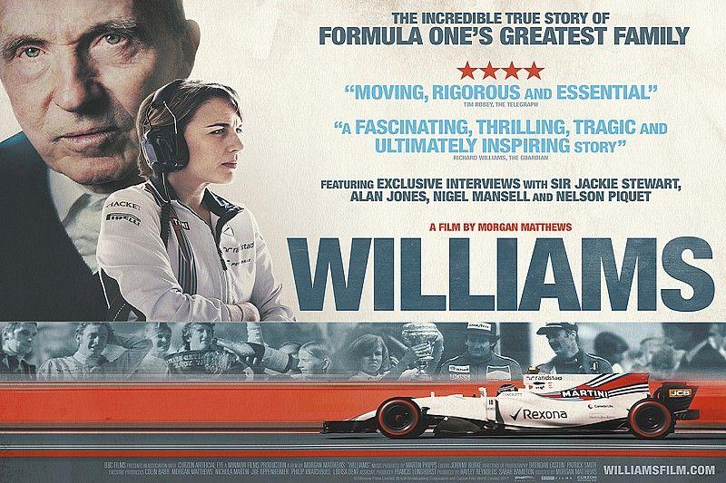 La película del equipo Williams se presentó la noche del martes en Londres