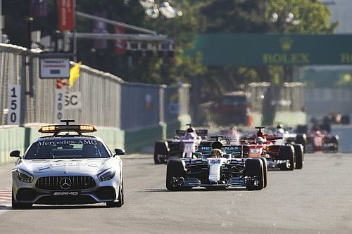 Clash de Bakou : Hamilton revient sur le second restart