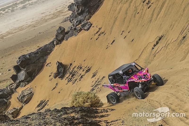 Las rosas del desierto sobreviven al Rally Merzouga