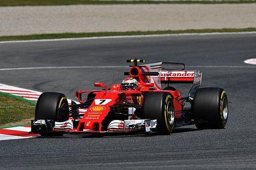 Ferrari voor Mercedes in derde oefensessie Spanje, Verstappen vijfde
