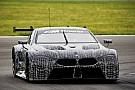 WEC Premier test pour la BMW M8 GTE
