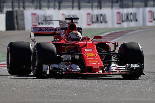 Formel 1 2017 in Sochi: Sebastian Vettel mit neuer absoluter Bestzeit