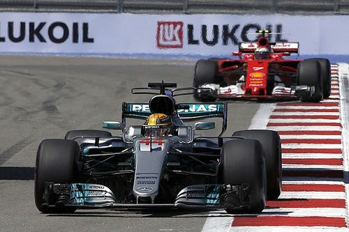 "Hamilton expects ""a real race"" with Ferrari at Sochi"