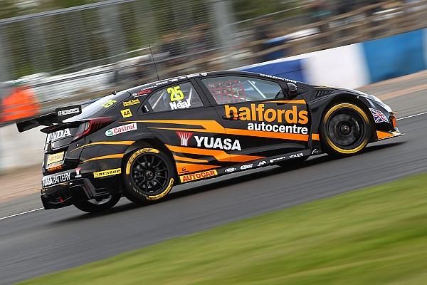 BTCC Thruxton BTCC: Neal takes pole as Honda dominates