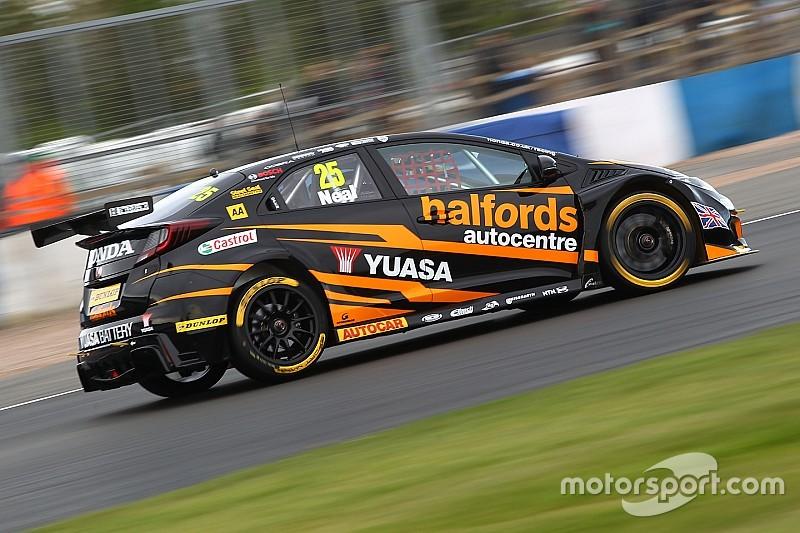 Thruxton BTCC: Neal takes pole as Honda dominates