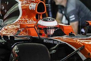 El McLaren de Vandoorne no pudo ni empezar la carrera de Bahrein