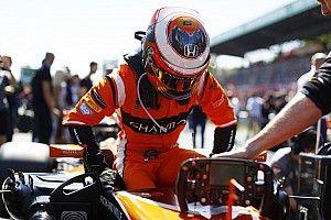 """Vandoorne na opgave Monza: """"Hetzelfde probleem als in de kwalificatie"""""""