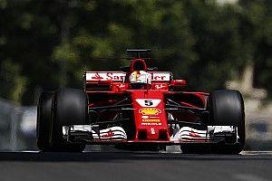 """Vettel: """"Nonostante qualche errore sono soddisfatto della SF70H"""""""