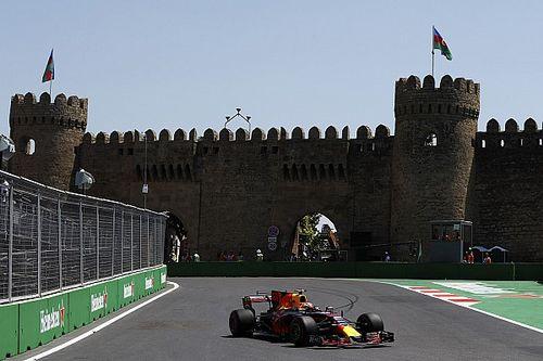 GP Azerbaijan: Tabrak pagar pembatas, Verstappen tetap unggul di FP2
