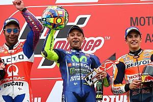 MotoGP Reporte de la carrera Rossi volvió a la victoria en una épica carrera en Assen