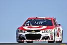 Larson tops final Sonoma practice; Elliott and Jones crash