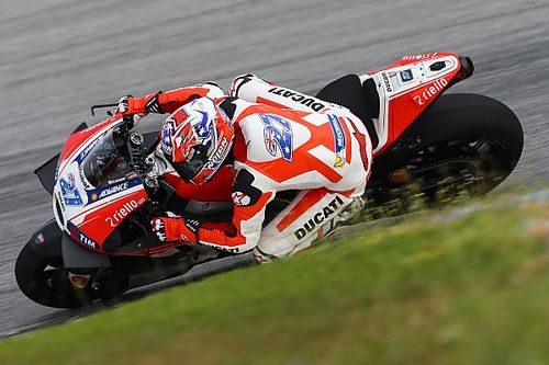 """Stoner """"exhausted"""" after completing Misano test"""