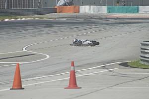 MotoGP Test Crash Baz: Michelin ipotizza un problema di pressioni