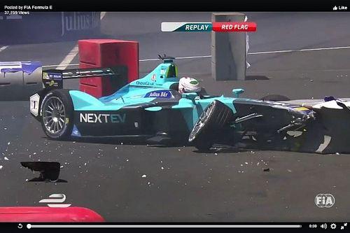 """Spettacolare crash nelle qualifiche di """"Nelsinho"""" Piquet!"""