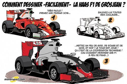 L'humeur de Cirebox - Haas et Ferrari, cousins germains