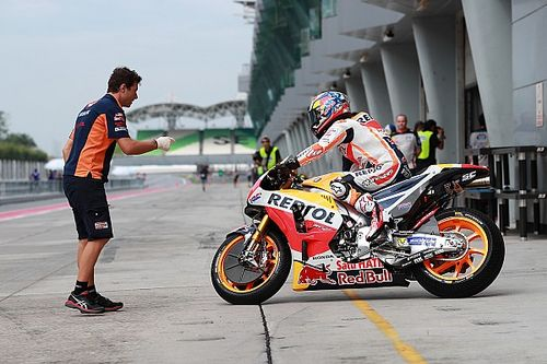 Pedrosa tops first day of MotoGP pre-season testing