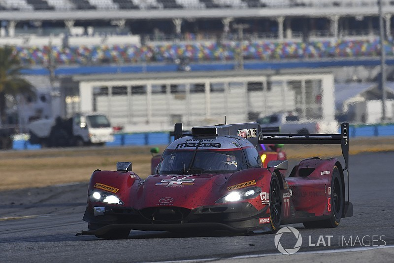 Mazda upbeat despite disastrous Rolex 24 showing