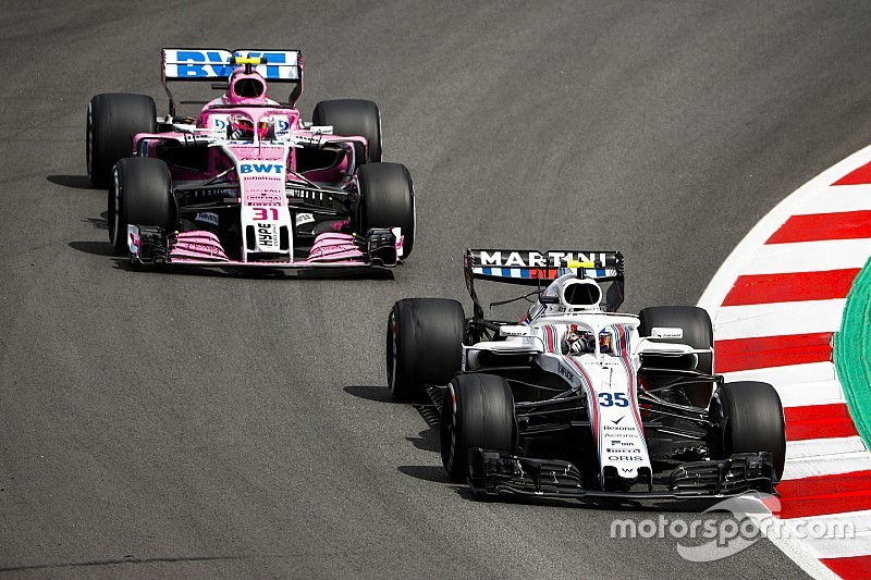 "Williams : ""Nous serions fous de ne pas envisager l'option Ocon"""