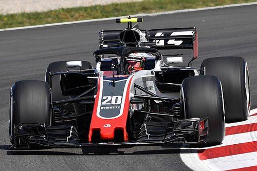 Haas trumpft in Barcelona auf, aber: Wieder Ärger um Magnussen