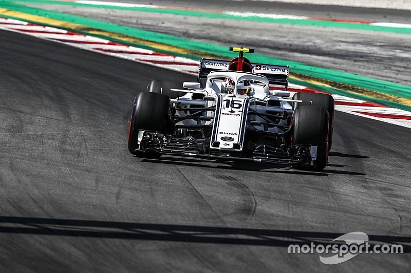 Leclerc nagyon elverte Ericssont és ott volt a Q2-ben