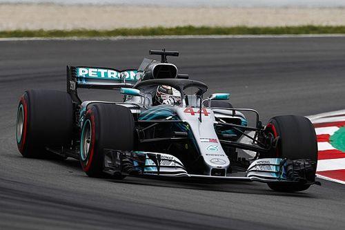 GP Spanyol: Hamilton start pole, Mercedes kunci 1-2
