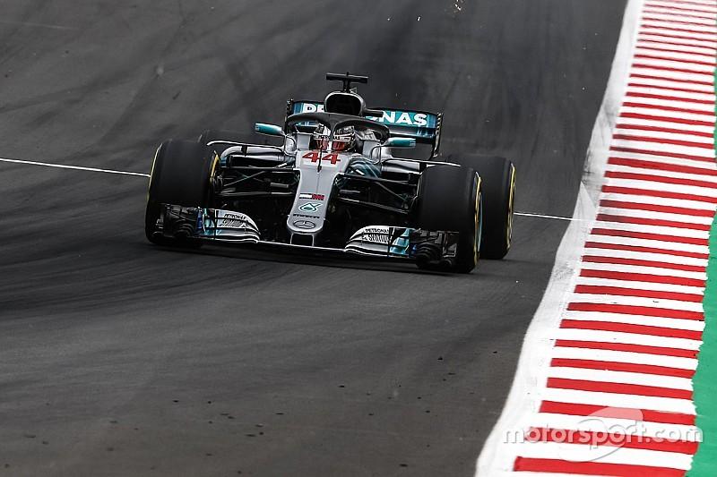 Hamilton nyerte a spanyol időmérőt Bottas és a két Ferrari előtt