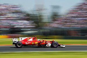 Räikkönen met du rouge sur le podium après une course solitaire