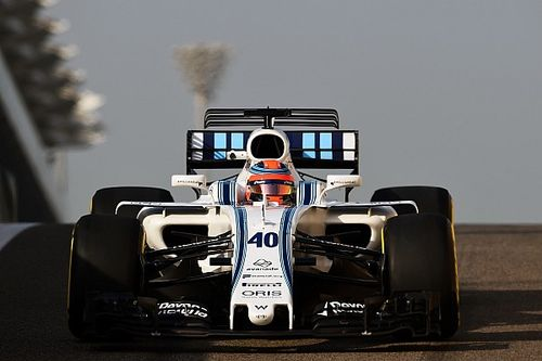 Kubica hace 100 vueltas en la primera prueba con Williams
