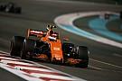 McLaren explica el curioso problema que afectó a Vandoorne en Abu Dhabi