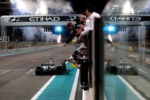 Fotogallery: il GP di Abu Dhabi chiude il Mondiale di F.1 2017