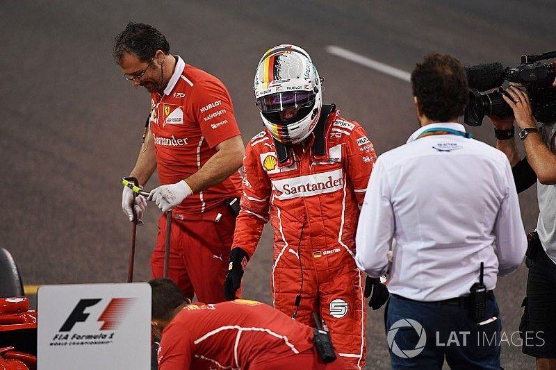 """Marchionne: """"Vettel sabe que ha fallado este año, pero aprenderá"""""""