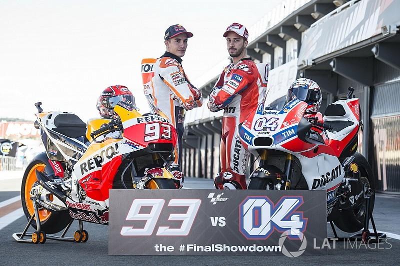 Fotogallery: Dovizioso e Marquez pronti per la sfida finale a Valencia