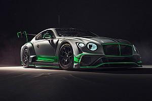 Blancpain Endurance Breaking news Bentley tampilkan Continental GT3 baru