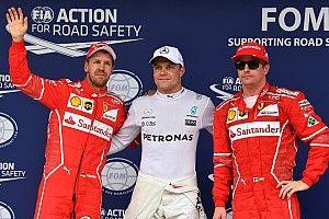 巴西大奖赛排位赛:博塔斯力压维特尔摘杆位,汉密尔顿撞车垫底