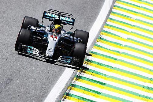 Brazilian GP: Hamilton leads dominant Mercedes 1-2 in FP1