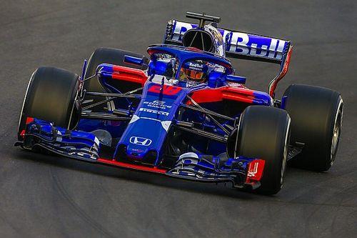 トロロッソ・ホンダ、トラブルフリーで72周を走破。最速はリカルド