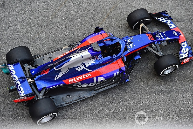 GALERÍA: el nuevo Toro Rosso STR13