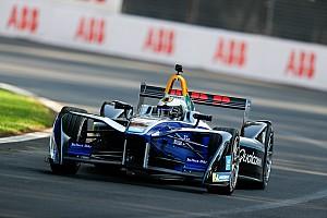 Формула E Новость Хорда протестировала машину Формулы Е