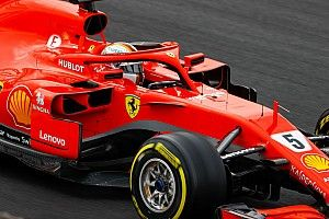 Tes Barcelona: Vettel bawa Ferrari ke puncak hari kedua