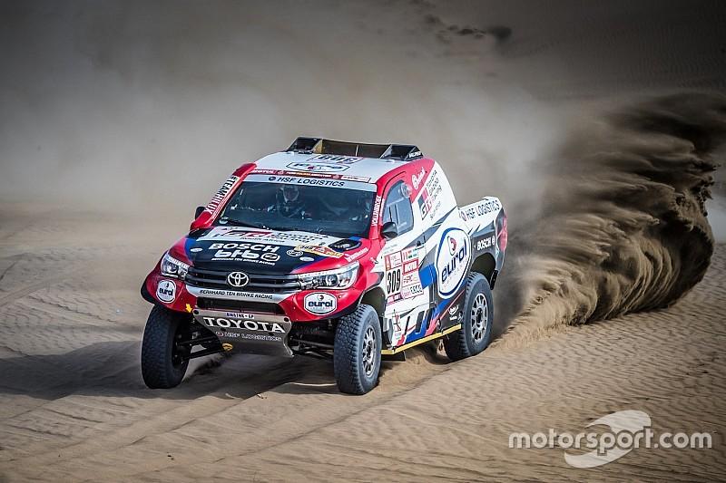 """Ten Brinke tevreden met elfde tijd tijdens """"een echte Dakar-dag"""""""
