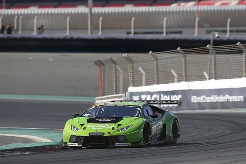 Mirko Bortolotti puts GRT Grasser Racing Team Lamborghini on pole for 24H DUBAI