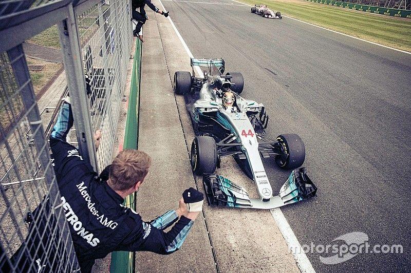 Mercedes: Наша машина в 2017-м была готова лишь на 90%