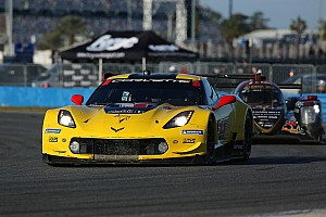 IMSA Breaking news Corvette's top time was result of tow, says Gavin
